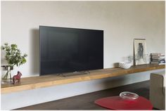 Buy Silver Sony Bravia LED HD Android TV, with Freeview HD and Built-In Wi-Fi from our View All TVs range at John Lewis & Partners. Sony Led, Floating Tv Stand, Floating Shelves, Monitor Tv, Tv Wanddekor, Tv Stand Designs, Living Room Entertainment Center, Tv Wall Decor, Sony Tv