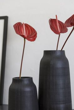 »Sofa-Style: Modern« | Vase Groove by HOUSE DOCTOR