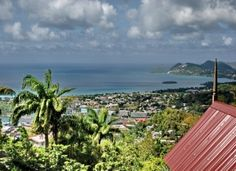 The Pink Plantation House, Morne Fortune in St. Lucia.