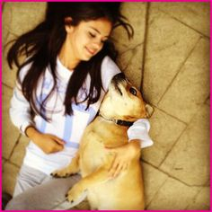 SELENA GOMEZ and baylor | Selena Gomez Spends Time With Her Dogs On April 2, 2012 | Disney ...