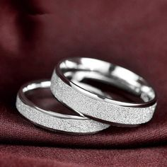 925 Sterling Silver Engagement and Wedding Rings Couples Ring for Men and Women His and Her Promise Ring Set White Gold Filled