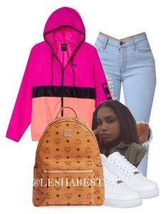 """""""Untitled #103"""" by leshabest ❤ liked on Polyvore featuring Victoria's Secret, NIKE and MCM"""