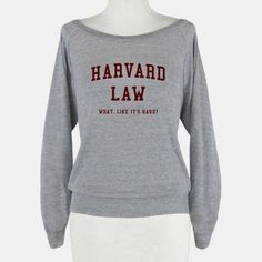 Harvard Law What Like It's Hard? Lol I'll have booty and brains on the way to the gym with this.... #LegallyBlonde #LookHumanGiveaway