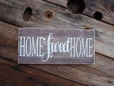 Handmade farmhouse fixer upper style home decor rustic wood sign gift #PearlandHandmadeStuff #Farmhouse