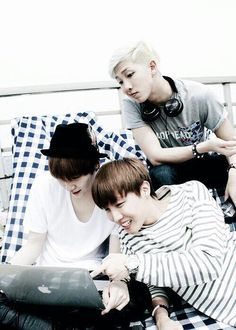Suga + J-Hope + Rap Monster
