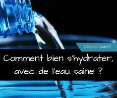 """1) Quand, comment et combien boire ? - Boire du jus de fruit ou de l'eau, c'est pareil ? - Doit-on boire durant les repas ?  2) Quelle eau choisir ? - eau du robinet - différents systèmes de filtration de l'eau  - eau en bouteille  3) Les carafes dynamisantes, qu'est-ce que c'est ? - Que veut dire """"dynamiser"""" l'eau ?  - Comment le faire chez soi ?  - Mon avis sur cette technique  Conclusion : mes choix personnels  - www.lebonheurestdanslanature.fr"""