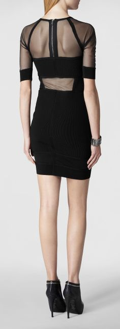LANA - bodycon mini dress.  Great LBD option for ladies who need the support of a strapless bra.
