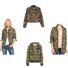 Camouflage Jackets. #fashion #camouflage