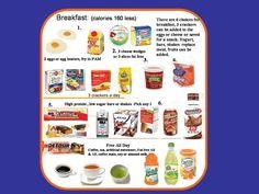 Food Menus for 800 Calorie HCG Diet