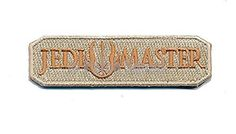 Patch Squad Men's Jedi Master Embroidered Tab Patch
