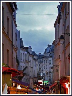 La Rue Mouffetard, Latin Quarter, Paris