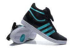 Adidas High Tops for Girls | adidas Originals Top Ten Hi Sleek Bow Womens Shoes-Blue/Black - adidas ...