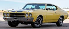 Chevrolet Chevelle, Chevy, Yellow Painting, Super Sport, Muscle Cars, Las Vegas, Engineering, Auction, Last Vegas