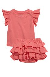 Ruffles! Baby Evie Top & Skirt (Infant)  Items priced $26.00 - $34.00.  Nordstrom