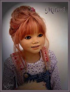 Milani Toddler Dolls, Child Doll, Baby Dolls, Annette Himstedt, Vinyl Dolls, Hello Dolly, Pretty Baby, Doll Toys, American Girl