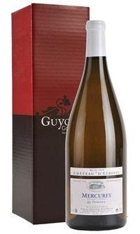 """MyGoodWines - Magnum de Mercurey """"Les Ormeaux"""" Château d'Etroyes en coffret Magnum, Bottle, Wine Gift Sets, Flask"""