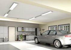 Garage Lighting Ideas Home - Garage LED Light Fixtures