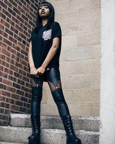 "CRMC X @miri_arake ""Cada Dia Mas"" Unisex Sleeveless hood available at www.crmc-clothing.co.uk ✉️ WE SHIP WORLDWIDE ✉️ Model - @theyasminbenoit Photography by @13thlifephotography #tattooartist #alternative #tattooart #fashionstatement #fashiongram #fashionista #instastyle #stylegram #alternativemodel #hot #alternativeblackgirl #blackmodel #gothgirl #dontfuckwithme #goth #fashionoftheday #dailyfashion #styles #style #alternativegirl #alternativeteen #instagrammers #instafamous #igers #love"