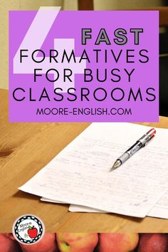 I have found the most effective formative assessments share 4 characteristics. I want to share those factors with you. And I also wanted to share the 4 formative assessments that have been most helpful for me. First, formative assessment should be focused. Rather than giving students a sprawling quiz, focus on one or two skills or standards. Similarly, formative assessments should be fast. Additionally, since formatives are so fast and focused, they are also frequent. Formative Assessment Strategies, Instructional Strategies, Ela Classroom, Peer Pressure, Plus 4, Reading Passages, Teacher Favorite Things, Classroom Management, Factors