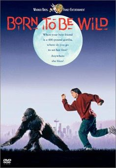 Born to be Wild (1995)  PG  4.9  Rick Heller is a juvenile delinquent who keeps getting himself into trouble. To keep him out of trouble his mother puts him to work cleaning the cage of a gorilla named Katie which she is teaching to communicate through the use of sign language. When the owner of the gorilla takes her back to become a flea market freak Rick takes it upon himself to break Katie out and take her on an adventurous ...