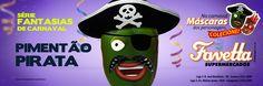 Favetta Supermercados - Série Fantasias de Carnaval: Pimentão Pirata