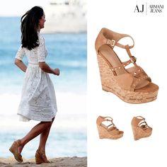 Koturny od Armani Jeans są łudząco podobne do butów Kate Middleton :)  ...::#Armani #ArmaniJeans #LaMarqueuse  #dodatki #akcesoria #accessory #koturny #shoes #platforms #KateMiddleton #Middleton  :...