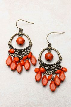 Berry Boho Earrings | Love the color perfect for fall
