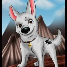 Disney - How to Draw Bolt from Bolt