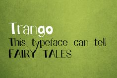 Trango Font is a funny childish handwritten font with a spirit. This typeface can tell fairy tales.