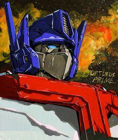Optimus Prime--etude by ~marble-v on deviantART