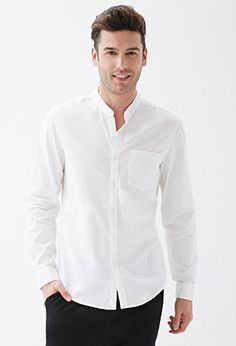 Calvin Klein Men's Steel Slim-Fit Non-Iron Performance Stretch Mandarin Collar White Dress Shirt - White 32/ Best prices on Dress shirt mandarin collar in Men's Shirts online. Visit Bizrate to find the best deals on top brands. Bizrate is not responsible for inaccuracies.