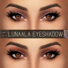 LUNAALA EYESHADOWA simple natural eyeshadow. I love how it looks with @pralinesims amazing eyeliner, so be sure to download it! [x] DOWNLOAD: [ SIMFILESHARE ] if you use please tag #simpliciaty in...