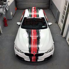 BMW M4 grunge livery | DESIGN ATELIER TTSTUDIO