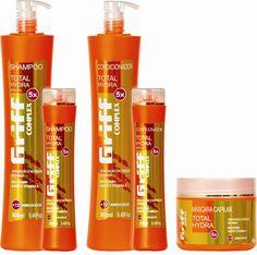 Óleo de Macadâmia associado à Manteiga de Karitê e a Vitamina A são responsáveis pela intensa hidratação dos fios tornando-os mais sedosos, brilhantes e fortes.      Possui um complexo com 12 aminoácidos essenciais que hidratam, fortalecem a estrutura, protegem a cor e reparam os danos da superfície capilar. Embalagens: Shampoo - 900ml Condicionador - 900ml Máscara Capilar - 500g Shampoo - 280ml (manutenção) Condicionador - 280ml (manutenção)