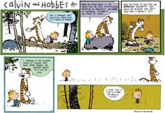 Bill Watterson should be considered a modern philosopher...