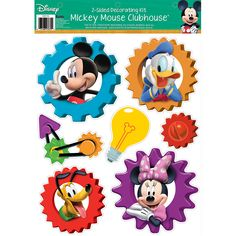 Mickey Mouse Clubhouse 2-Sided Classroom Decor
