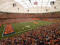 Carrier Dome  Syracuse, New York