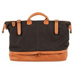 Moore & Giles - Walker traveler bag in waxwear rangerhoney. $690