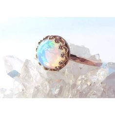 Opal Rings, Gold Rings, Or Rose, Rose Gold, Opal Birthstone, Bronze, Natural Opal, Etsy, Jewelry Rings