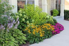 This is Front Yard and Garden Walkway Landscaping Inspirations 14 image you can Farmhouse Landscaping, Front Yard Landscaping, Landscaping Ideas, Mulch Landscaping, Landscaping Around House, Hydrangea Landscaping, Walkway Ideas, Succulent Landscaping, Landscaping Software