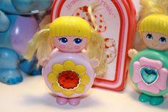 Sweet Secrets Strawberry shortcake and Wuzzles 80's toy lot. $30.00, via Etsy.