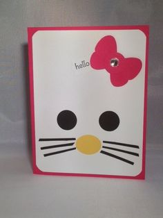 Card made with all Stampin' Up products