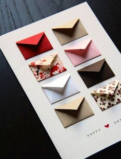 Anniversary card idea. Write a favorite memory from each year.