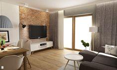 Salon styl Nowoczesny - zdjęcie od Grafika i Projekt architektura wnętrz - Salon…