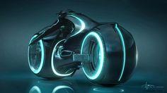 Tron motorcycle #futuristic