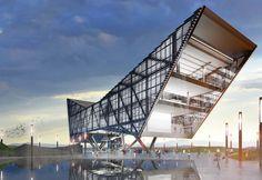Tijuana MEX - USA Border Architectural Competiton | Alan Rodríguez Carrillo | Archinect