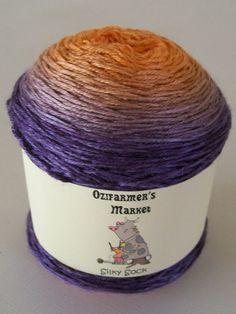 Colourway : Marpesia. Changes from bright orange to a deep aubergine/eggplant colour - just like the Marpesia butterfly.   Beautiful color gradient