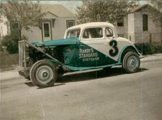 Dirt Track Racing, Drag Racing, Auto Racing, Ridge Runner, Ford Stock, Vintage Race Car, Vintage Auto, 32 Ford, Old Race Cars