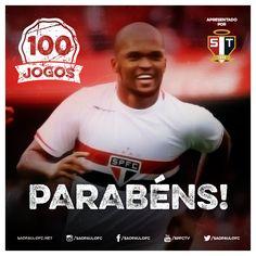 01.03.2015 - Edson Silva completa 100 jogos com a camisa do São Paulo