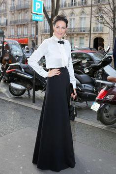 Adriana Abascal at Haute Couture Fashion Show Stephane Rolland SS 2016 31f0b0faaaeb8